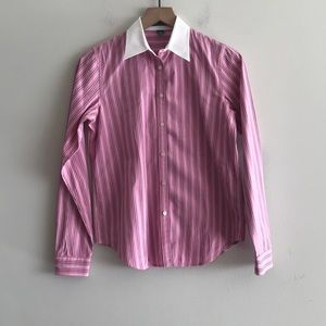 NWOT Ralph Lauren Button Down Blouse  Size S